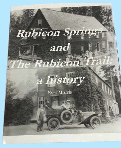 Rubicon Springs History book