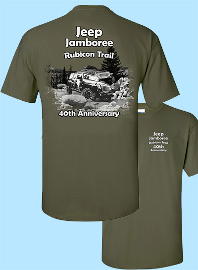 Jeepers Event T Shirt
